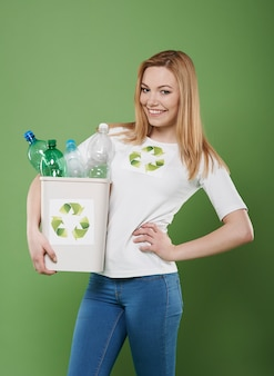 Je suis un parfait activiste du recyclage