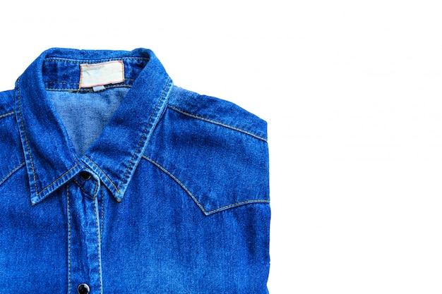 Jean chemise bleu