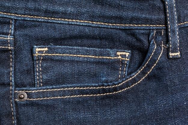 Jeans gros plan