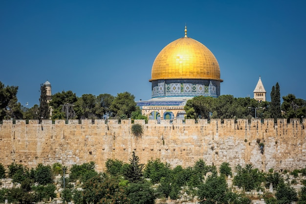 Jérusalem dôme doré