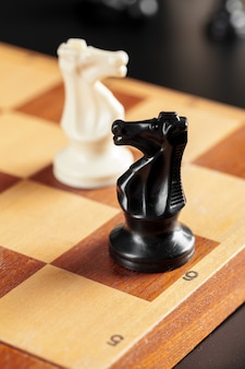 Jeu d'échecs à bord