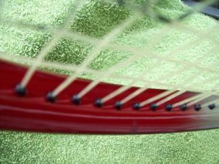 Le jeu de tennis, à la ligne