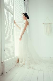 Jeune belle mariée
