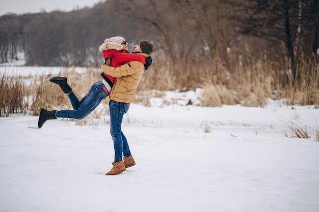 Jeune couple, saint valentin