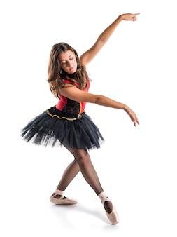 Jeune danseur de ballet avec tutu