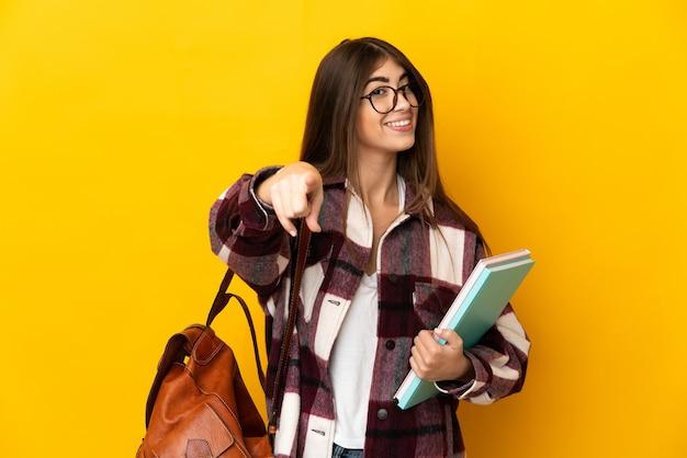 Jeune étudiante isolée