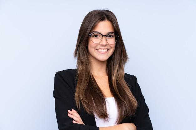 Jeune femme d'affaires brésilienne
