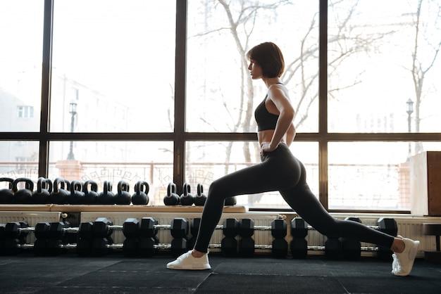 Jeune femme fitness