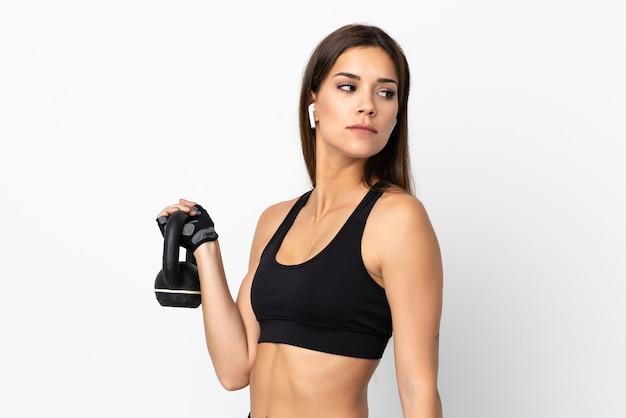 Jeune femme sportive