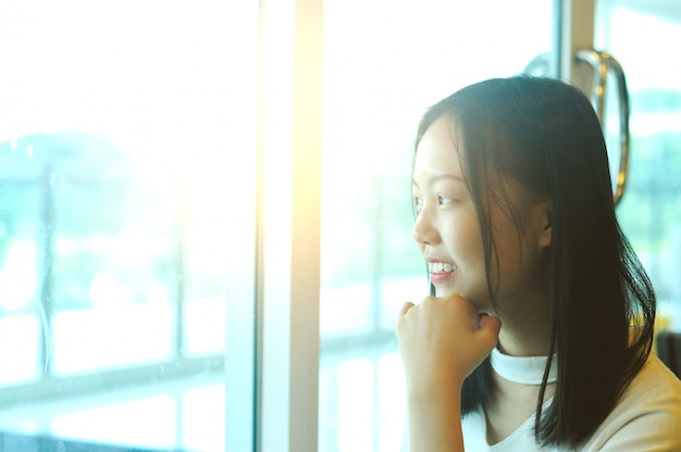 Jeune fille asiatique
