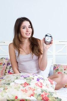 La jeune fille au lit