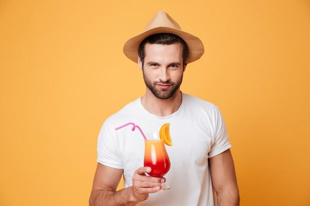 Jeune, tenue, cocktail