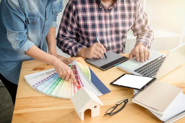 Les jeunes designers de collègues