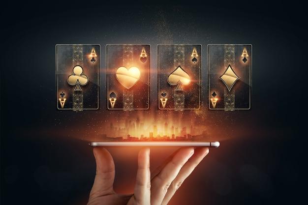 Jeux d'argent en ligne sur mobile