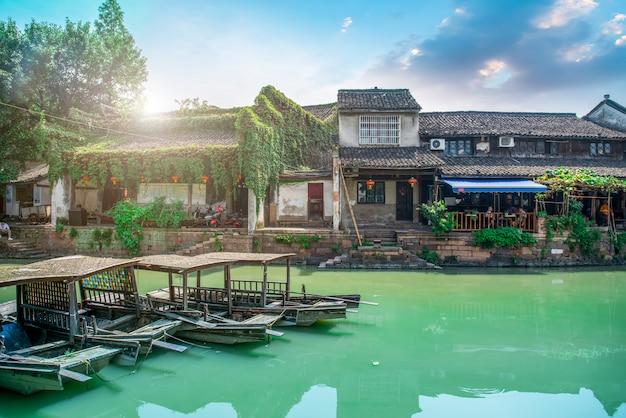 Jiangnan water township dans l'ancienne ville de zhejiang