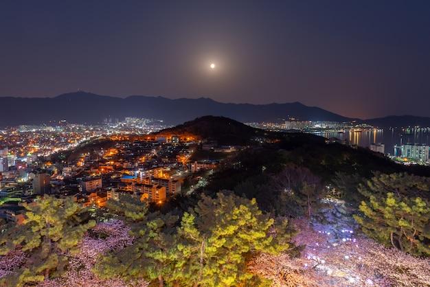 Jinhae city, corée du sud