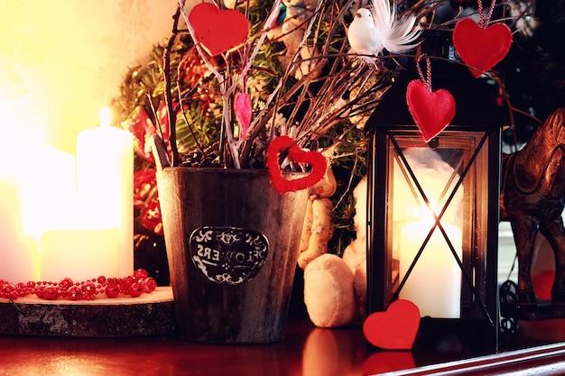 Jouet de bougie coeur saint valentin
