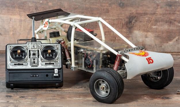 Jouet de voiture de rallye modèle rc, buggy tout-terrain avec télécommande