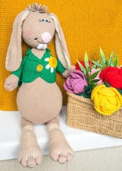 Jouets pour enfants tricotés à la main, souvenir tricoté à la main