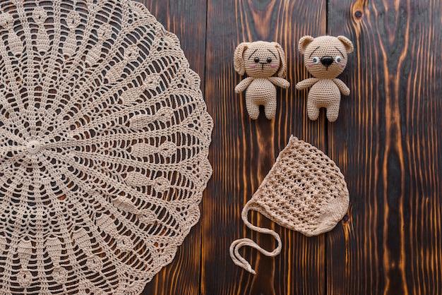 Jouets tricotés