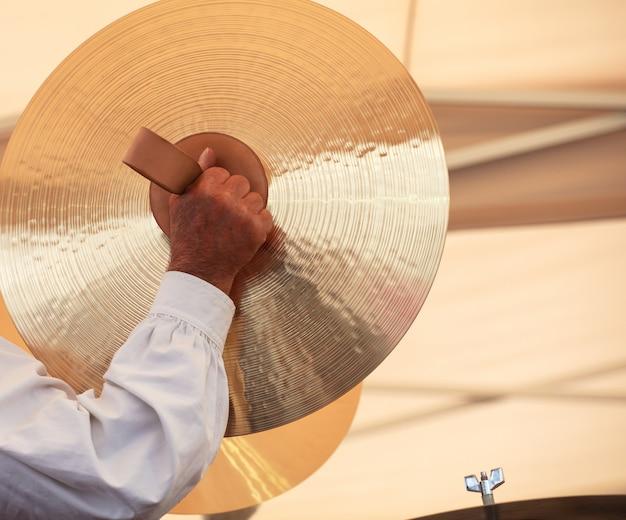 Joueur de cymbales