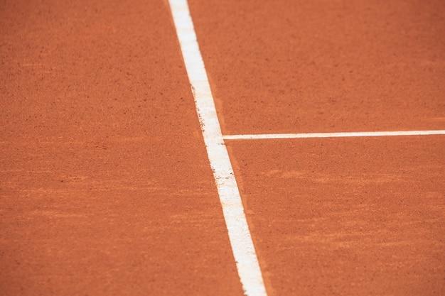 Joueur de tennis en championnat