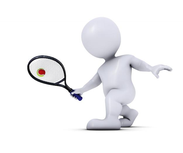 Joueur de tennis professionnel