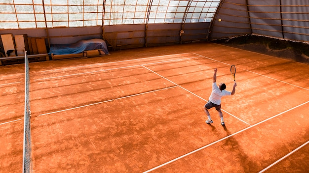Joueur de tennis
