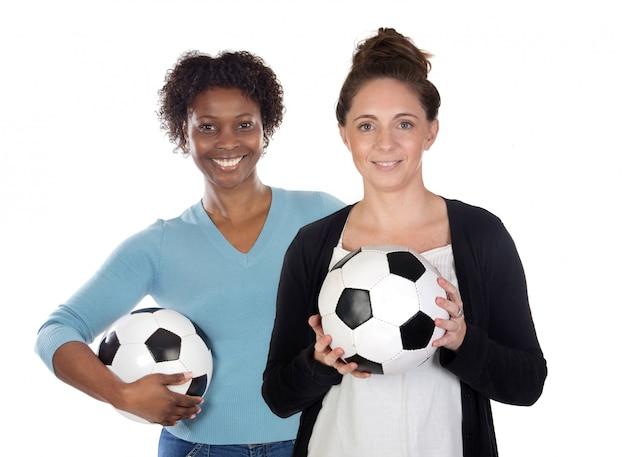Joueurs de soccer féminin