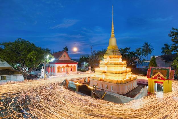 Jour d'asalha puja en thaïlande