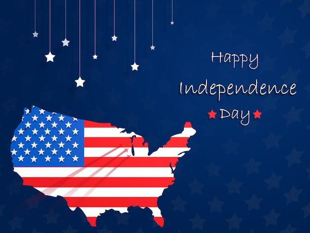 Jour de l'indépendance des etats-unis le 4 juillet