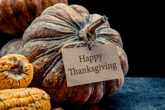 Jour de thanksgiving et saison d'automne pour la fête