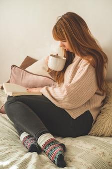 Journée d'automne d'hiver confortable