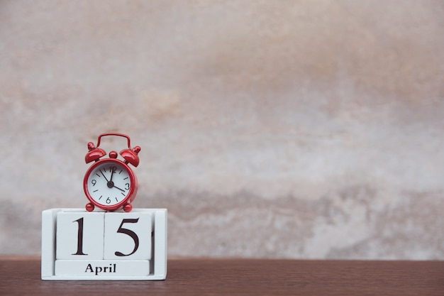 Journée fiscale avec réveil