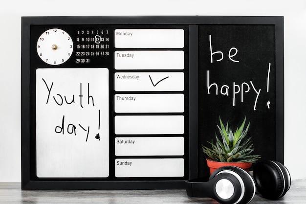 Journée de la jeunesse au bureau