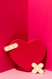 Journée mondiale du cœur avec pansement