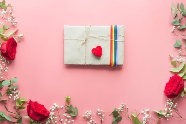 Journée romantique avec concept lgbt