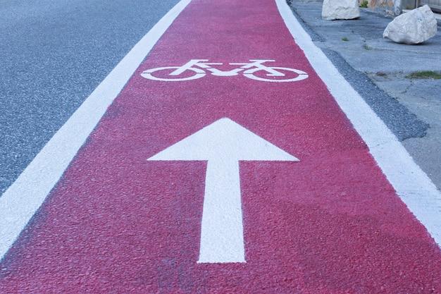 La journée de vélo au travail, piste cyclable