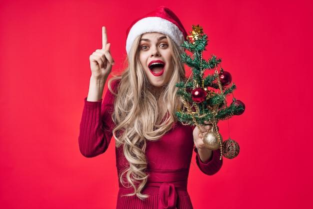 Joyeuse femme décoration de noël jouets tradition vacances
