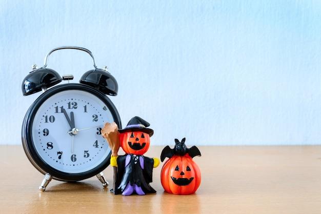 Joyeuse fête d'halloween avec le 31 octobre. concept trick and treat