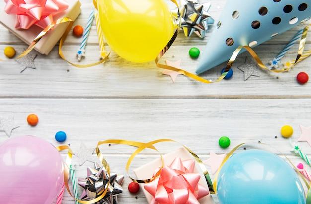 Joyeux anniversaire ou fond de fête