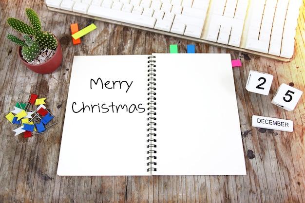 Joyeux noël 25 décembre modèle de concept pour le fond