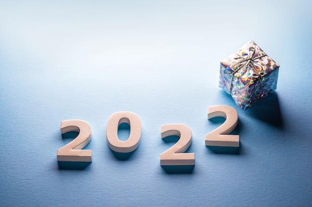 Joyeux noël et bonne année 2022carte postale nouvel an 2022carte de noël 2022 hiver 2022