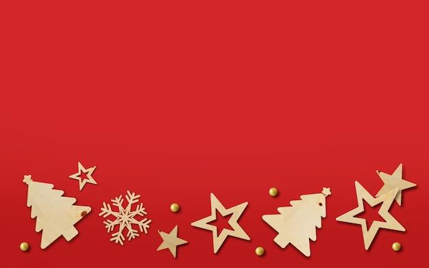 Joyeux noël et bonne année bannière