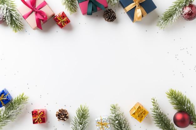 Joyeux noël et bonne année concept de festival