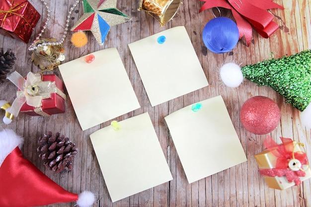 Joyeux noël et bonne année thème design pour fond de cadre photo