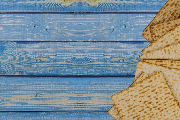 Le judaïsme religieux sur la pâque juive de la matza