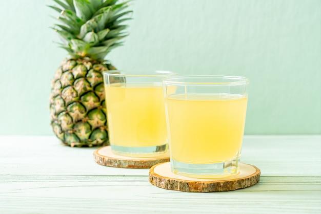Jus d'ananas frais