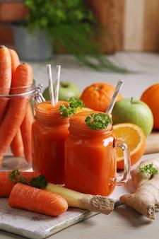 Jus de carotte frais