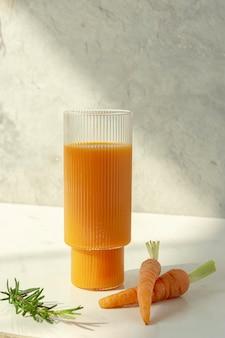 Jus de carotte pressé à froid